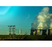 Cooling Towers Photographic Print