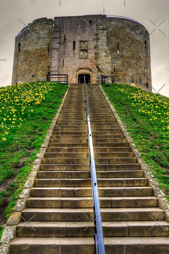 Steps to the Keep by Tom Gomez