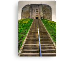 Steps to the Keep Canvas Print