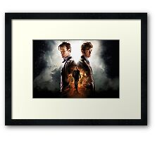 Doctor Who Day Of The Doctor  Framed Print