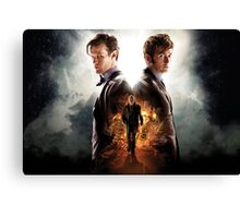 Doctor Who Day Of The Doctor  Canvas Print