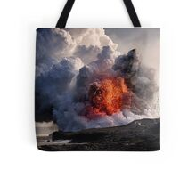 Kilauea Volcano at Kalapana 8 Tote Bag