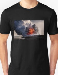 Kilauea Volcano at Kalapana 8 T-Shirt