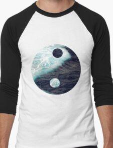 Yin Yang Ocean Men's Baseball ¾ T-Shirt