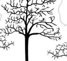 Climb a tree design Sticker