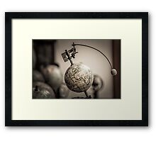 Earth and Moon Conjunction Framed Print