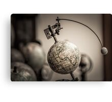 Earth and Moon Conjunction Canvas Print