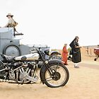 Lawrence of Arabia display at the Goodwood Revival Meeting by Frank Kletschkus
