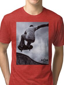 Skate style by Trinity Milano Tri-blend T-Shirt
