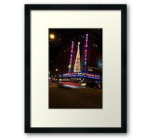 Radio City Music Hall New York City Framed Print