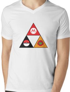 Nintendo-force Mens V-Neck T-Shirt