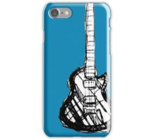 Rough Les Paul iPhone Case/Skin