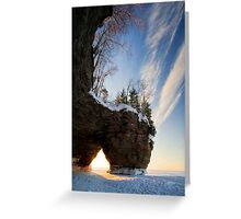 That time of Day, Apostle Islands,WI Greeting Card