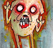 Jake the zombie dog by byronrempel