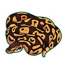 Dorothy - Pastel Ball Python by cargorabbit