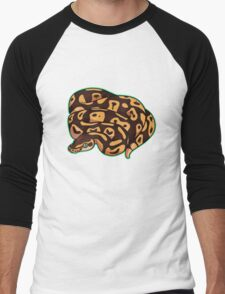 Dorothy - Pastel Ball Python Men's Baseball ¾ T-Shirt