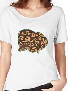 Dorothy - Pastel Ball Python Women's Relaxed Fit T-Shirt