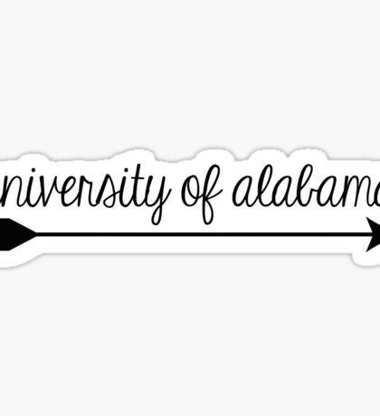 University of Alabama Arrow Sticker