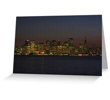 San Francisco Gold Greeting Card