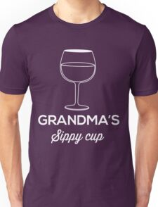 Grandma's Sippy Cup Unisex T-Shirt