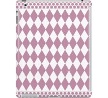pink diamonds iPad Case/Skin