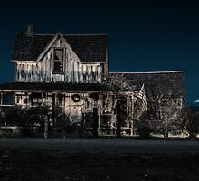 old house by Jeannie Peters