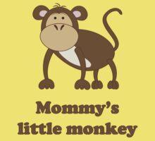 Mommy's little Monkey One Piece - Short Sleeve