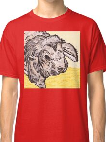 Leo the rabbit watercolour and ink Classic T-Shirt