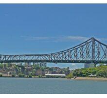 Storey Bridge, Brisbane, Qld, Australia (Panorama) Sticker