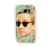 A Very Floral Martin Freeman Samsung Galaxy Case/Skin