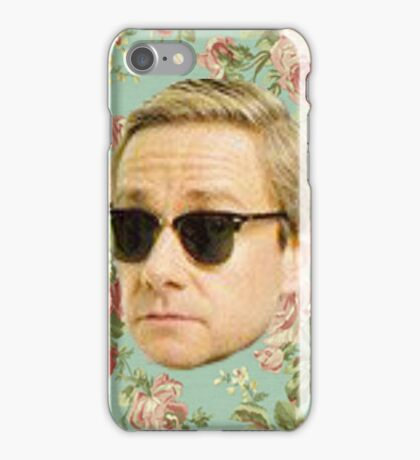 A Very Floral Martin Freeman iPhone Case/Skin