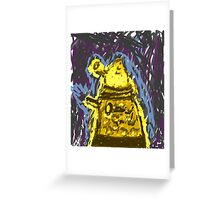 Rise of the Daleks Greeting Card