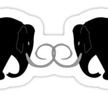 2 Mammoths Sticker