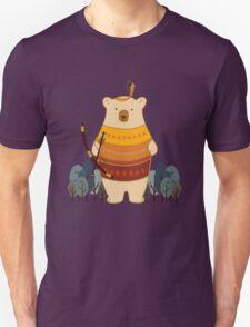 Brave Indian Bear T-Shirt