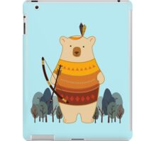 Brave Indian Bear iPad Case/Skin