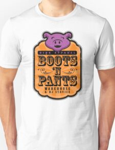 Boots 'n Pants Apparel T-Shirt