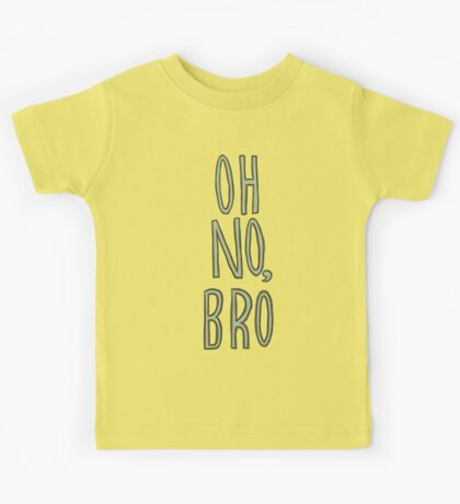 Regular Show / Oh no, Bro Tee Kids Tee