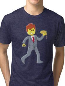 + monobrow man + Tri-blend T-Shirt