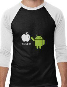 """I Fixed It"" - Android vs Apple Men's Baseball ¾ T-Shirt"