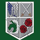 Military Crest by Rainey April