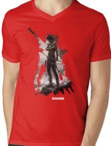 Tomb Raider - Survivor is Born Mens V-Neck T-Shirt