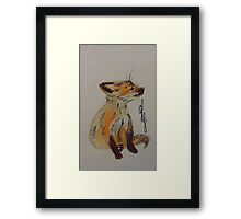 Master Fox Framed Print