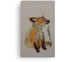 Master Fox Canvas Print