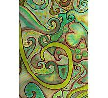 Earthy Swirls Photographic Print
