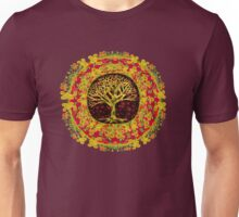 Autumn Colors Tree of Life by Amelia Carrie Unisex T-Shirt
