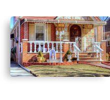 Religious little House - HDR version Canvas Print