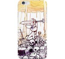 Fiery Bunny Apocalypse iPhone Case/Skin