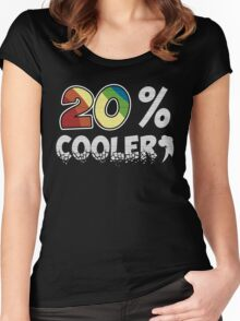 20 Percent Cooler Women's Fitted Scoop T-Shirt