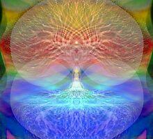 Rainbow Heart Tree by Amelia Carrie by treeoflifeshop