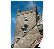 Hawkshead Church Tower Poster
